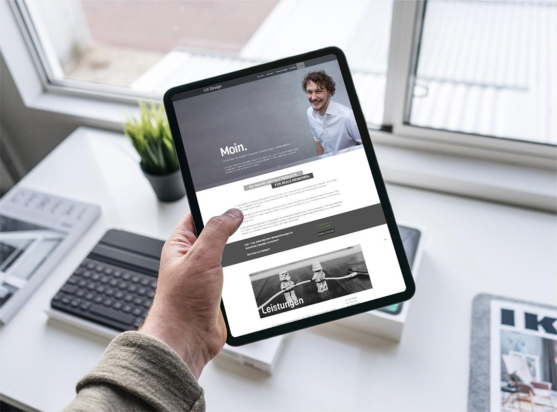 Portfolio Webdesign Projekt Felix Häußer