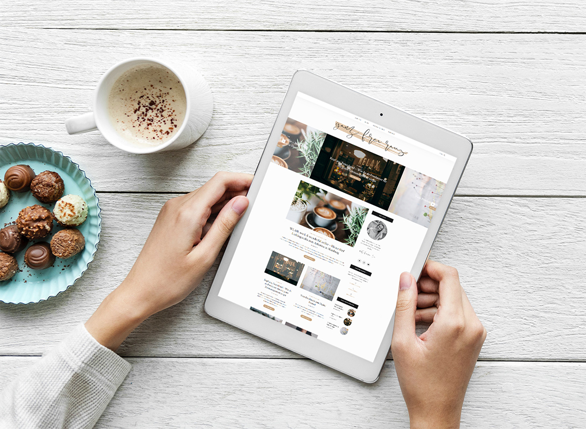 Portfolio Blog Webdesign ganz frei raus