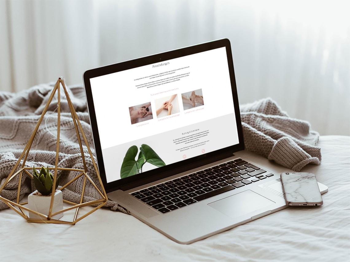 Portfolio Unternehmenswebsite Vyana